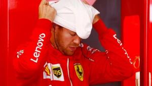 Ein Desaster für Vettel und Ferrari