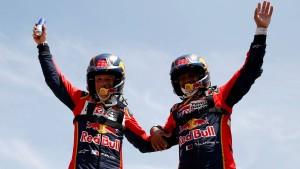 Al-Attiyah holt Gesamtsieg bei Rallye Dakar