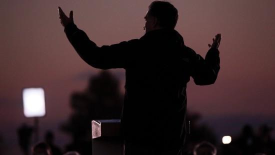 Romney nun leicht vor Obama