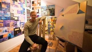 Ein Fußballprofi als Dichter, Maler und Schreiner