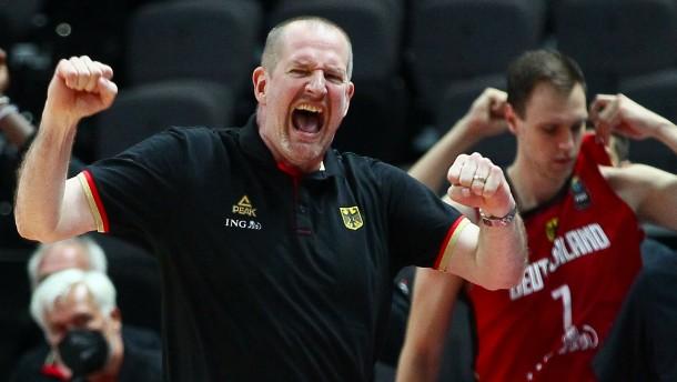 Bizarre Szenen bei deutschem Basketball-Spiel