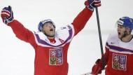 Jaromir Jagr sorgte für großen Jubel bei Gastgeber Tschechien
