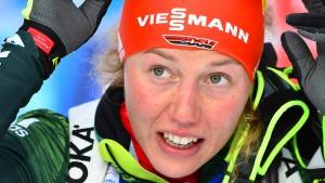 Biathlon-Star Dahlmeier legt eine Pause ein