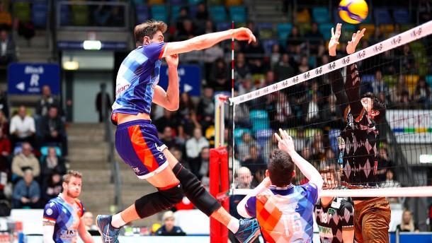 Volleys in der Existenz gefährdet