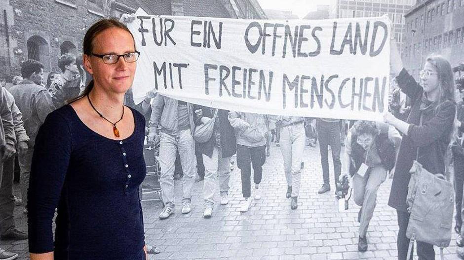 Michaela Jessica Tschitschke spielt beim ersten FLTI-Fußballverein in Kreuzberg.
