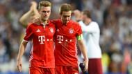 Philipp Lahm und Nachfolger: Joshua Kimmich übernimmt die Rolle des Fußballrentners