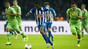 Hertha verfolgt das Spitzentrio