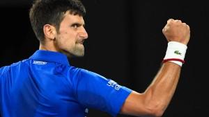 Djokovic führt Nadal im Endspiel vor