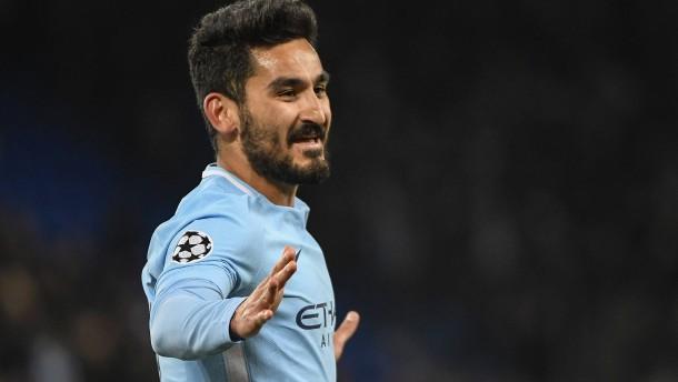 Gündogan führt City schon fast ins Viertelfinale