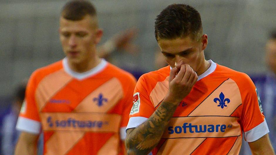 Darmstadt 98 verließ Aue mit leeren Händen.