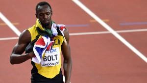 Krachende Niederlage für Bolt über 100 Meter
