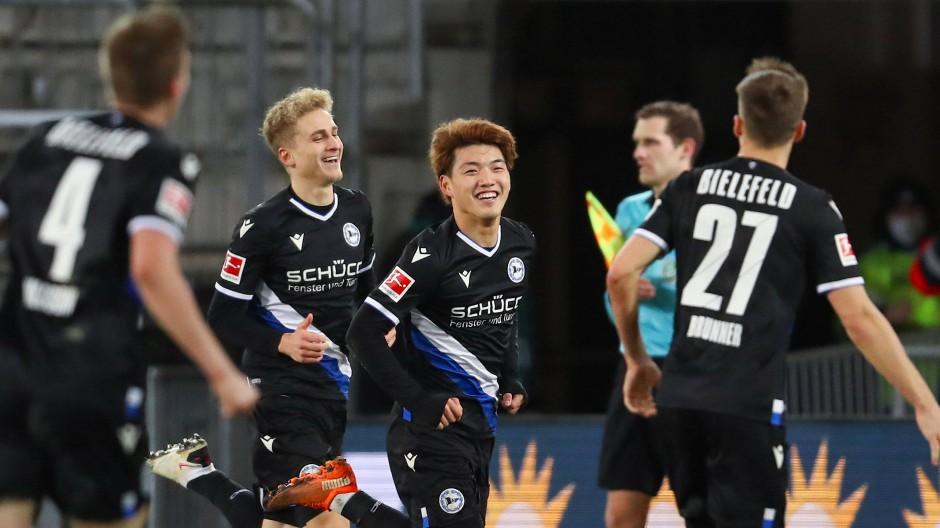 Macht Spaß: Arminia Bielefeld in der Bundesliga