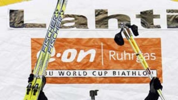 Wolf auf Platz drei in Lahti - Greis im gelben Trikot