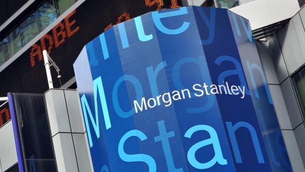 Morgan Stanley muss fünf Millionen Dollar Strafe zahlen