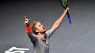 Großer Tag für Matthias Bachinger: zum ersten Mal im Finale eines ATP-Turniers