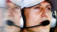 Der Schwere seiner Verletzung entsprechend Fortschritte: Michael Schumacher hat das Universitätsklinikum von Lausanne verlassen