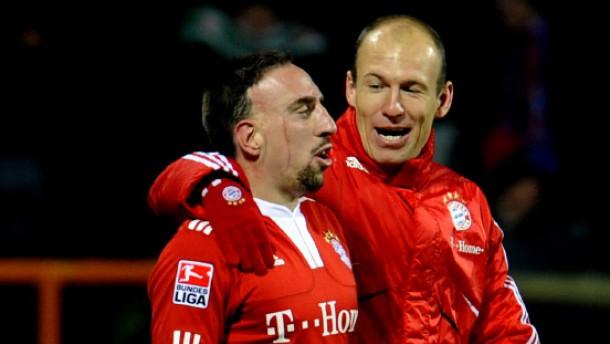 Robben schießt die Bayern auf Platz eins
