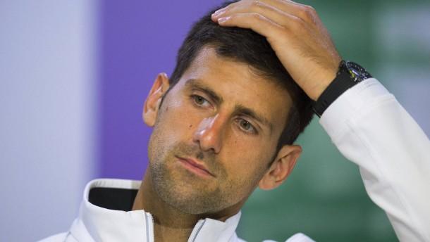 Sorgen um Djokovic