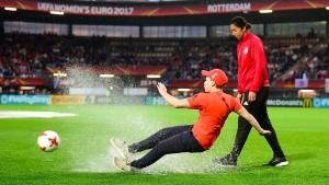 Das deutsche Viertelfinale fällt ins Wasser