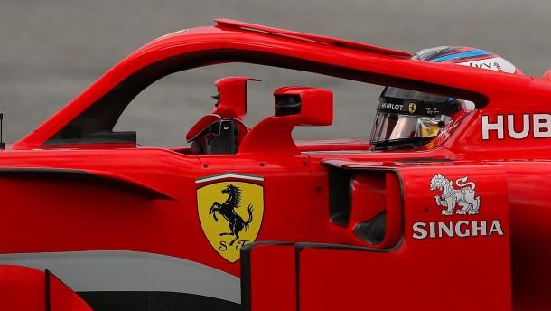 Warum die Formel 1 den Heiligenschein hasst