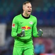 Jubel und Erleichterung: Leipzig-Torhüter Peter Gulacsi