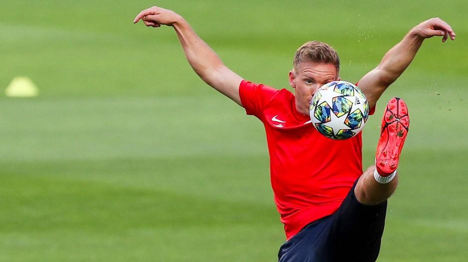Feingeist am Ball, Feingeist an der Linie: Leipzig-Trainer Julian Nagelsmann will in der Champions League bestehen.