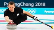 Russland im Visier: Hier der Curler Alexander Kruschelnitzkij, der bei Olympia positiv getestet wurde.