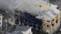Zwölf Tote befürchtet nach Feuer in Animationsstudio in Kyoto