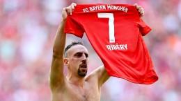 Ribérys Spur führt nach Italien
