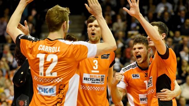 Youngster Schott lässt die Berlin Volleys träumen