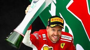 Vettel fährt abgezockt zurück an die WM-Spitze