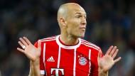 Arjen Robben ist nach seiner Pause wieder dabei bei den Bayern.