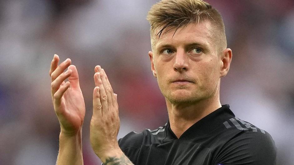 Das war's: Toni Kroos spielt nicht mehr für die deutsche Fußball-Nationalmannschaft.