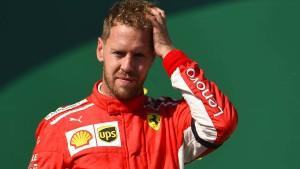 Vettel will und muss sich verbessern