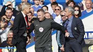 Wenger und Mourinho – wie auf dem Schulhof