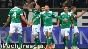 Werder stürmt nach oben