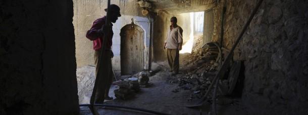 Die IS-Terrormiliz schürt Furcht und hinterlässt Zerstörung - wie hier in der syrischen Stadt Maaloula