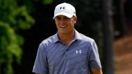 Hat derzeit gut lachen: Jordan Spieth in Augusta