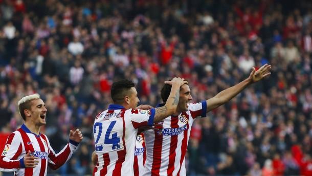 Atlético bleibt Real auf den Fersen