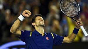 Djokovic ist der König von Melbourne