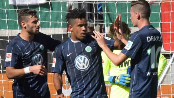 Wolfsburger Auswärtssieg zum Auftakt