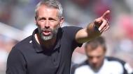 Marco Rose: sein erster Bundesligasieg als Trainer gelingt ihm ausgerechnet dort, wo er einst zur Klublegende wurde, in Mainz.
