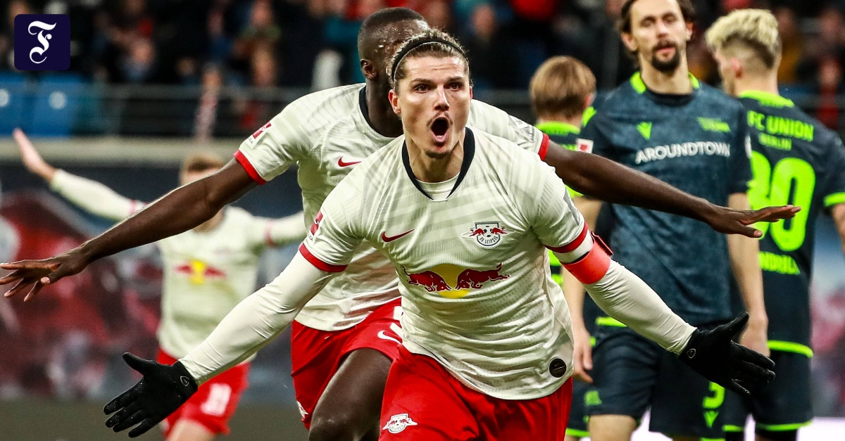 Fußball-Bundesliga: Leipzig siegt über Union Berlin