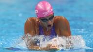 Julija Jefimowa war bei der WM in Budapest schnell unterwegs im Wasser.