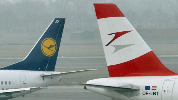 EU gibt Lufthansas AUA-Übernahme grünes Licht