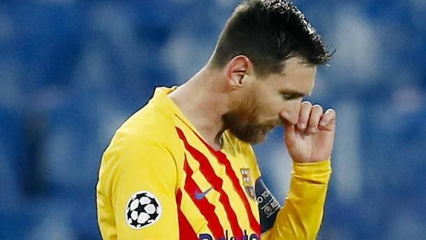 Nur ein Traumtor von Messi reicht nicht