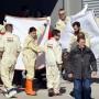 Nach dem Unfall bei den Tests wurde Alonso in eine Klinik gebracht