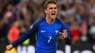 Frankreich nach Sieg über Albanien im Achtelfinale
