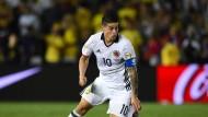 Führte Kolumbien zum zweiten Sieg: Stürmer James Rodriguez