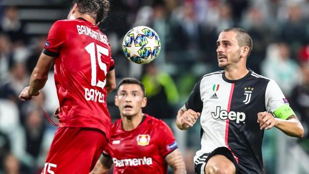 Bayer chancenlos in Turin